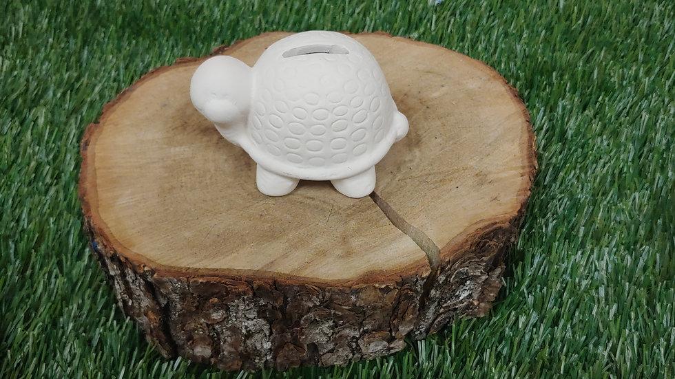 Ceramic Turtle Bank Grab N' Go Art Kit