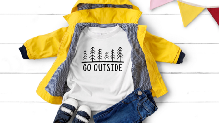 Go Outside Youth Tee