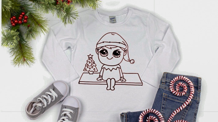 Elf on the Shelf Youth Sweatshirt