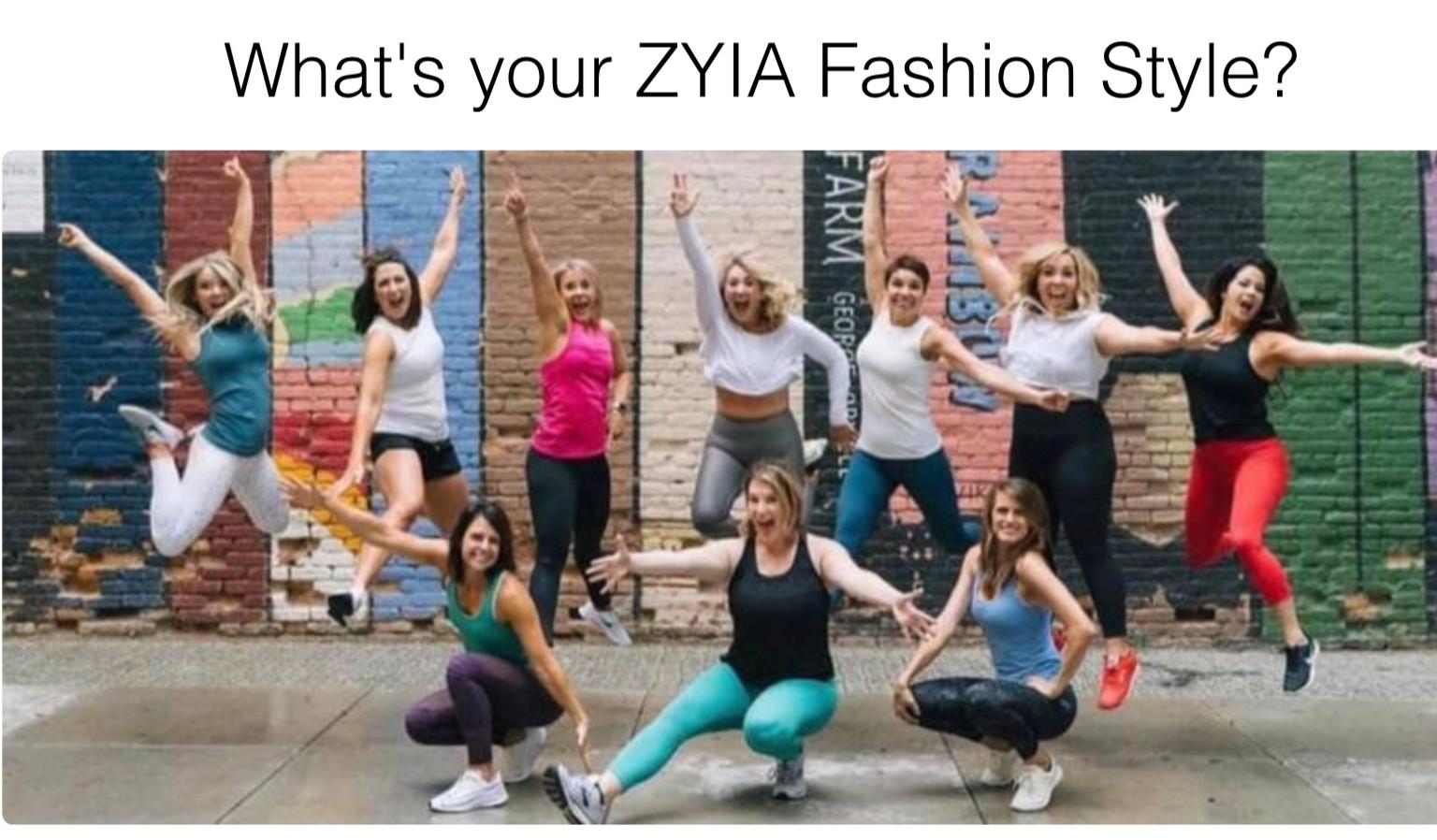 ZYIA ACTIVE WEAR