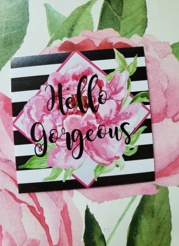 """Hello Gorgeous"" stickers- Lisa Collection"