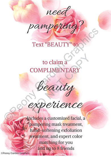 Text Frame, Beauty Experience PDF Download