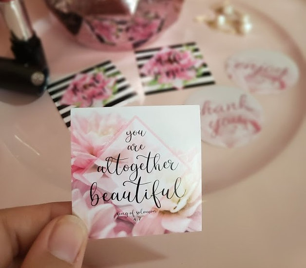 Serene Beauty Stickers