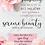Thumbnail: Serene Beauty Text Frame Download