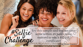 Sample Selfie Challenge Cards