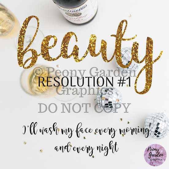 Beauty Resolutions Image Pack