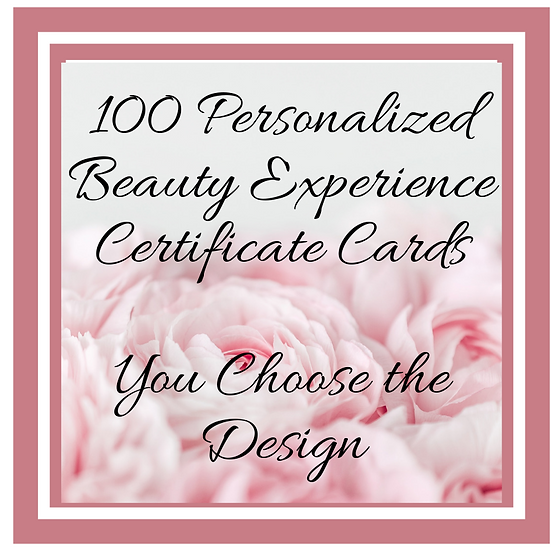 Personalized BE Certificate Card: Various Designs