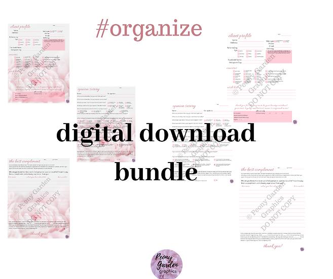 Organize Sheets Bundle