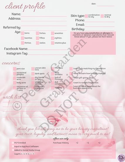 Comprehensive Client Profile