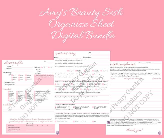Amy's Beauty Sesh Digital Bundle
