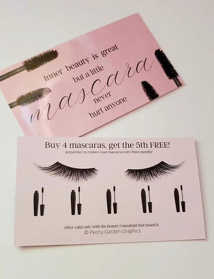 NEW LOOK Mascara Club Card