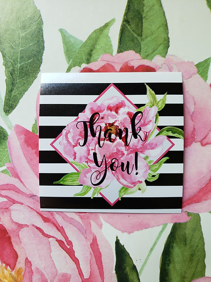 """""""Thank You"""" Stickers -- Lisa Collection"""