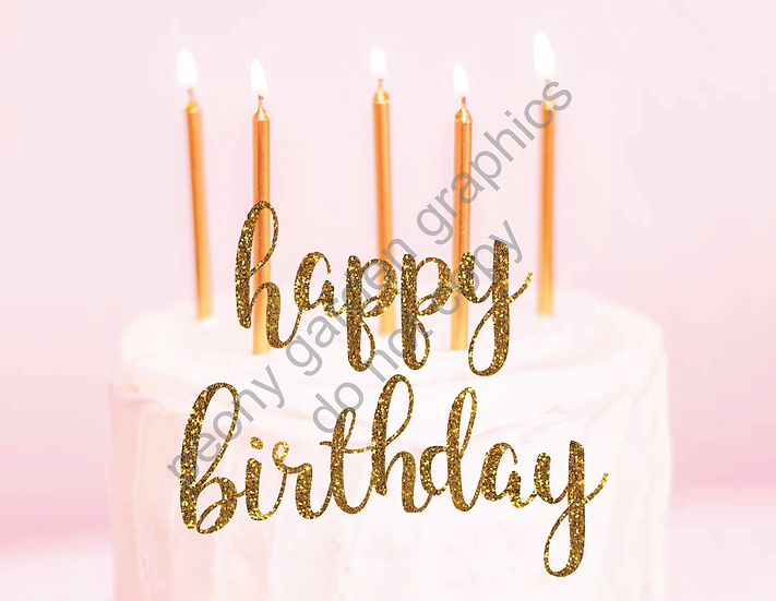 Another Editable Birthday Postcard Download