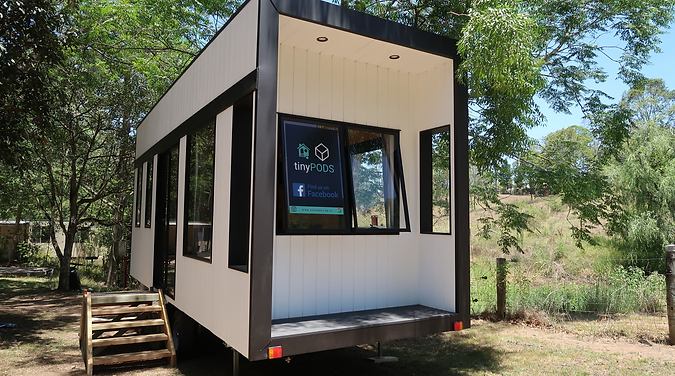 Tiny House Holiday at Kookuburra Park Sunshine Coast