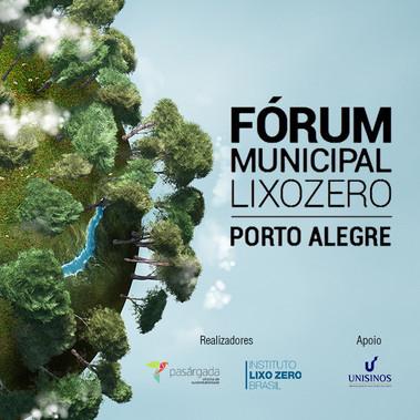 Fórum Municipal Lixo Zero Porto Alegre 2016