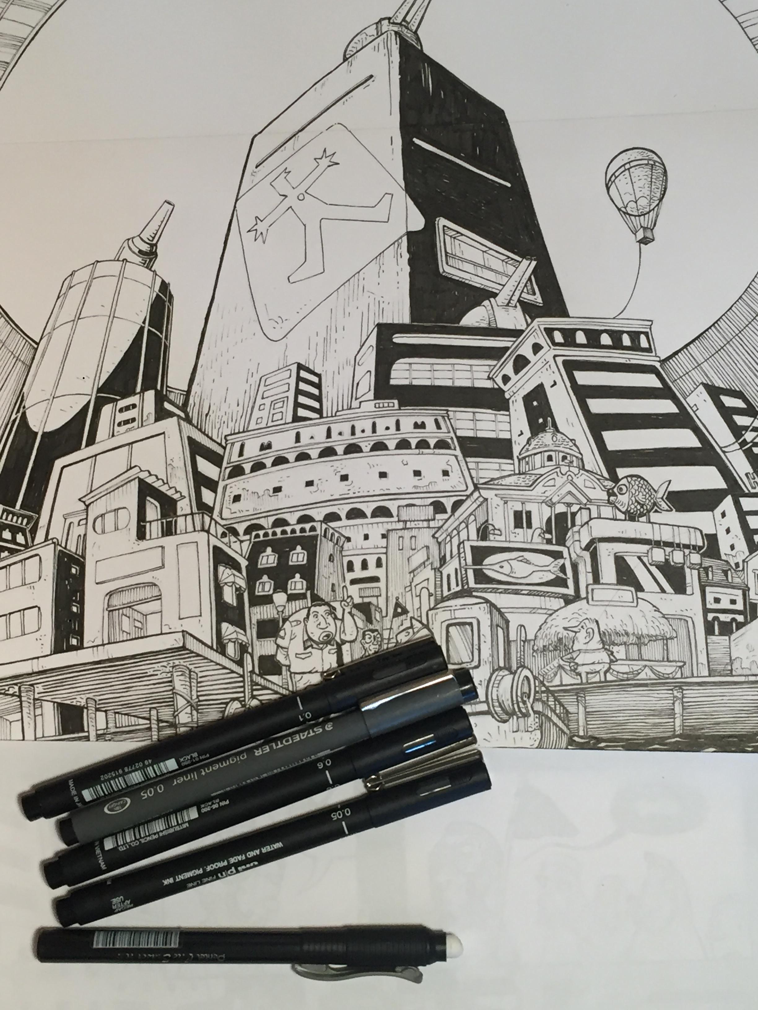 A Cidade Buraco