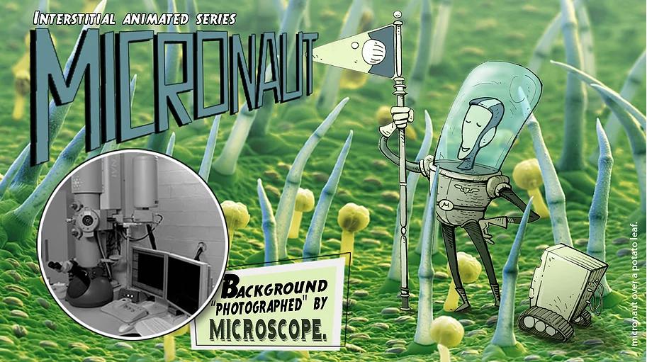 MICRONAUTA Série Animada