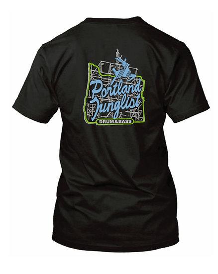 JUICE Portland Junglist Men's Tshirt (black)