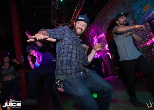 Brendan feelin' the moves.