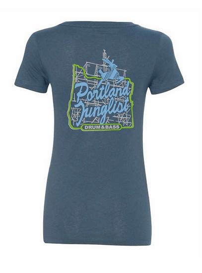 JUICE Portland Junglist Women's Tshirt (indigo)