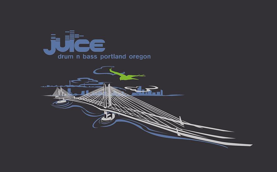 JUICE Tilikum Bridge Design Women's Hoodie