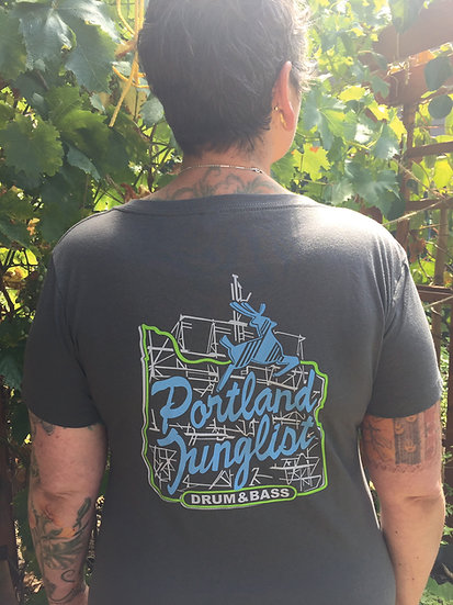 JUICE Portland Junglist Women's Tshirt (gray)