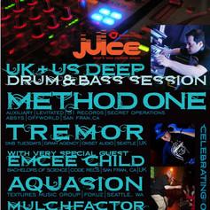 Method One (SF) & Tremor (SEA/UK), feat Emcee Child (UK/San Fran)