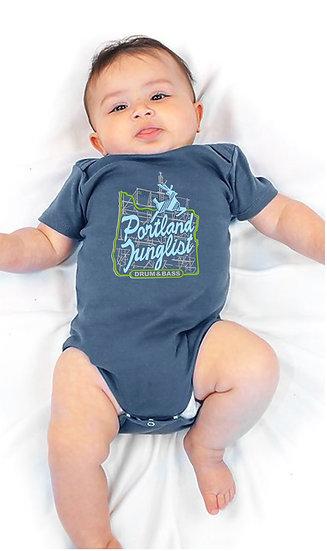 JUICE Portland Junglist Organic Onesie