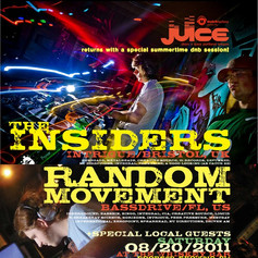 The Insiders (UK) & Random Movement (Florida)