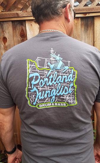 JUICE Portland Junglist Men's Tshirt (gray)