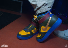 Some supa fly shoes from a special Seattle visitor.