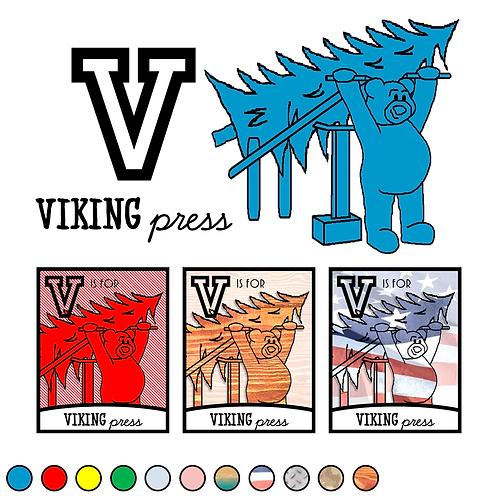 V is for Viking Press