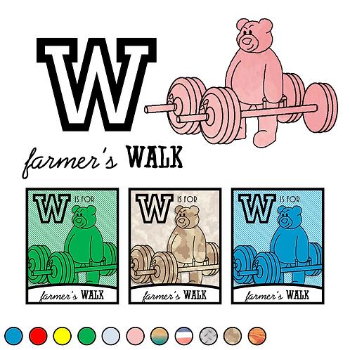 W is for (farmer's) Walk