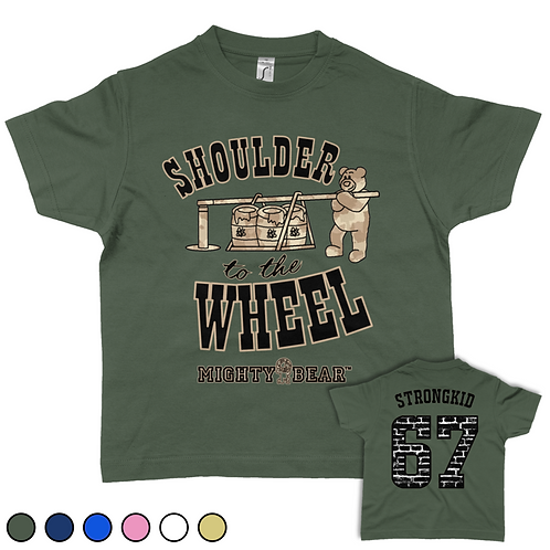 Shoulder to the Wheel Tee
