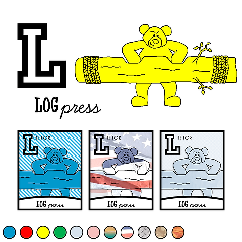 L is for Log Press