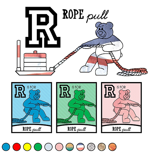 R is for Rope Pull