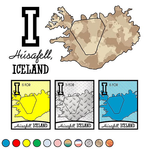 I is for (Húsafell) Iceland