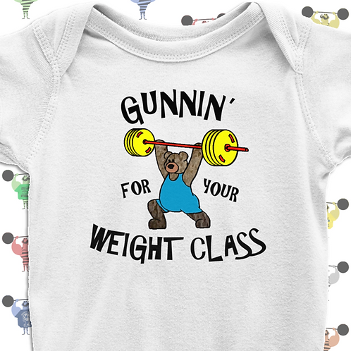 Olympic Weightlifting Baby Tee