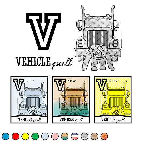 V is for Vehicle Pull