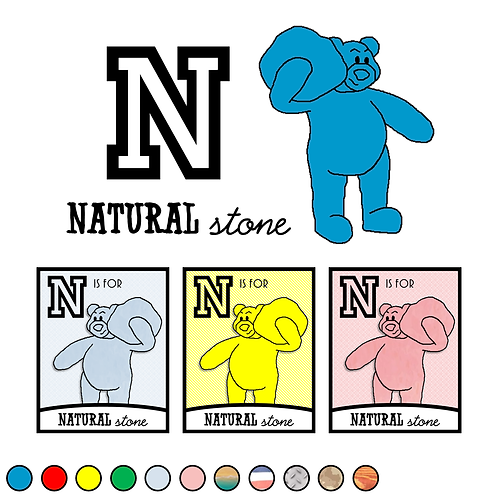 N is for Natural Stone