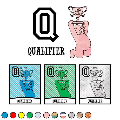 Q is for Qualifier