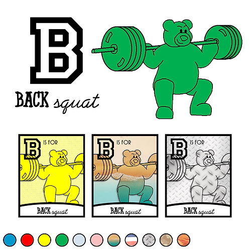 B is for Back Squat