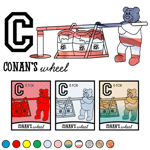 C is for Conan's Wheel