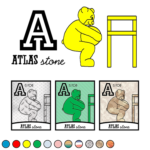A is for Atlas Stone