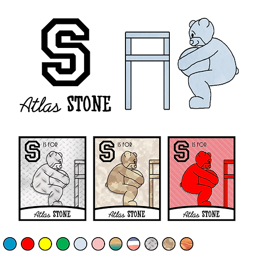 S is for (Atlas) Stone