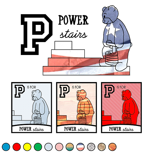 P is for Power Stairs