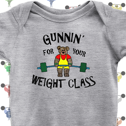 Powerlifting Baby Tee