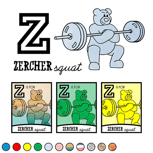 Z is for Zercher Squat