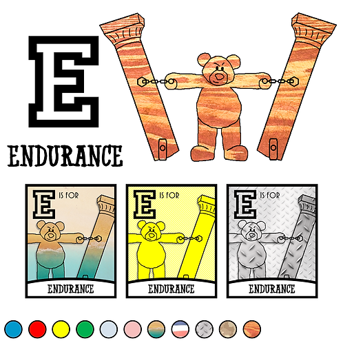 E is for Endurance