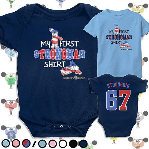 First Strongman Shirt Baby Tee
